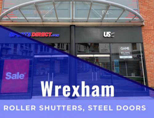 Roller Shutters & Security Doors – Wrexham